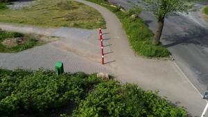 Zugang Wüstenhöferstraße / Kleine Buschstraße Finca BarCelona II
