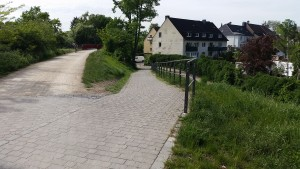 Zugang Kampstraße