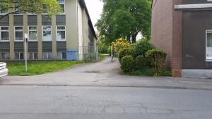 Zugang Gymnasium Borbeck