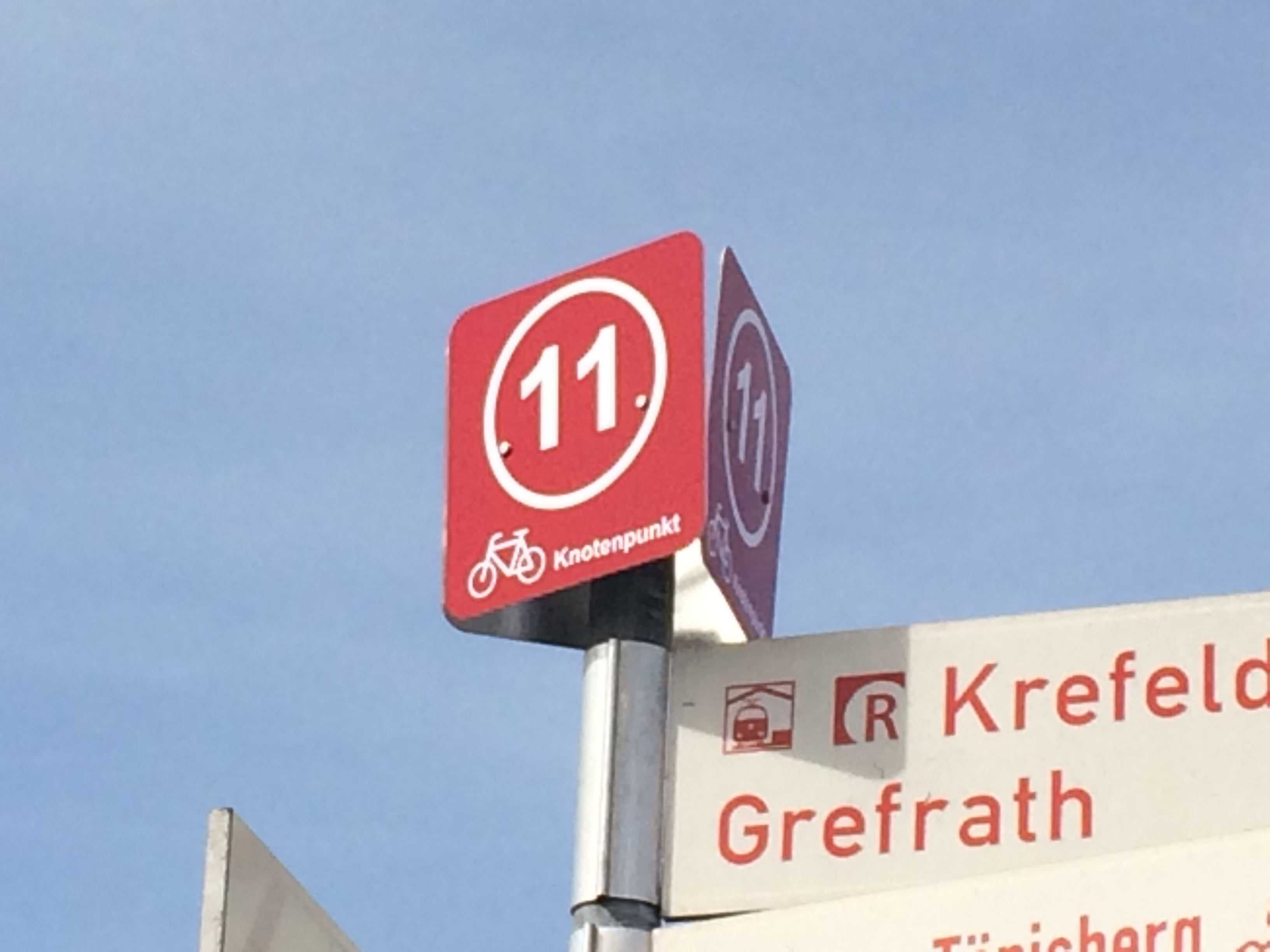 Knotenpunkt bei Krefeld