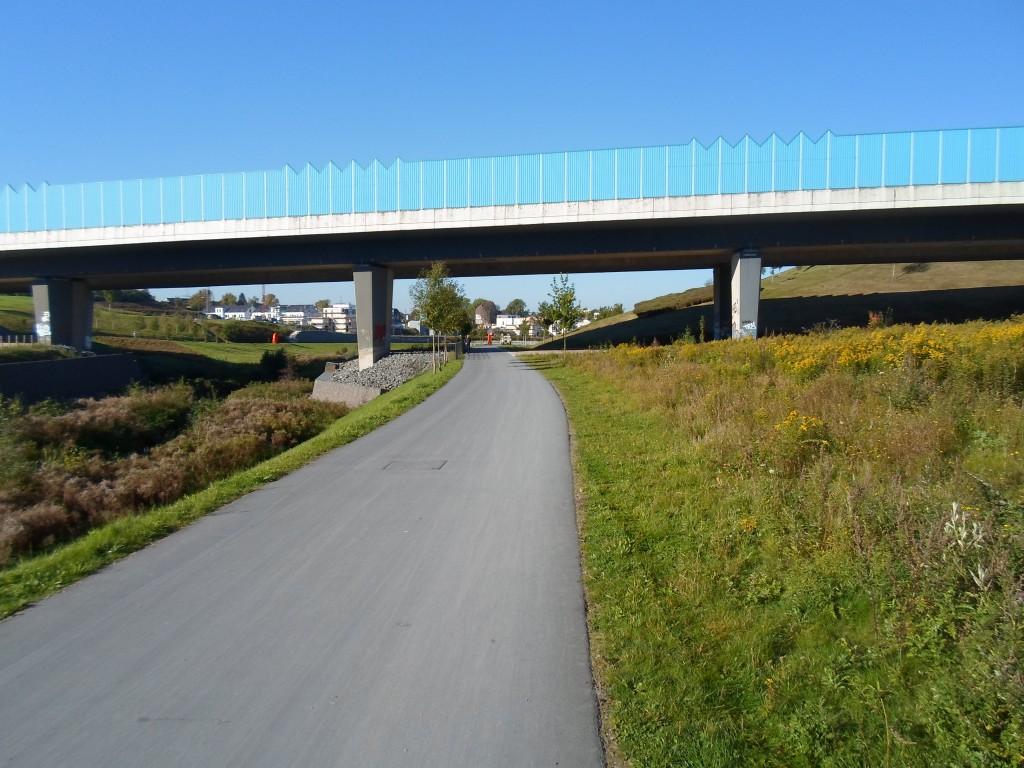 Die Brückeist die B236