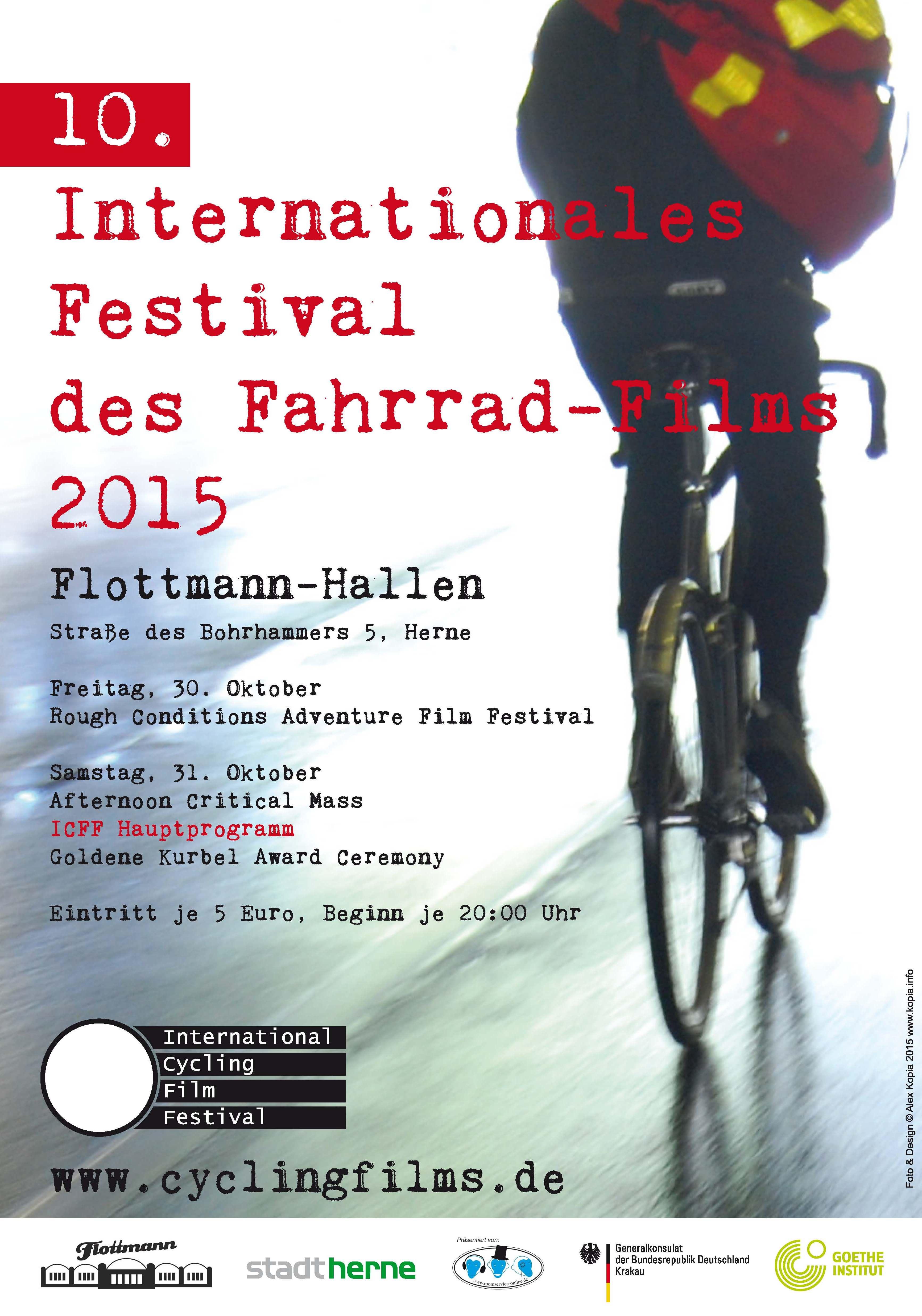 Plakat Festival des Fahrrad-Films