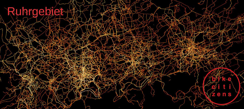 Ruhrgebiet Heatmap