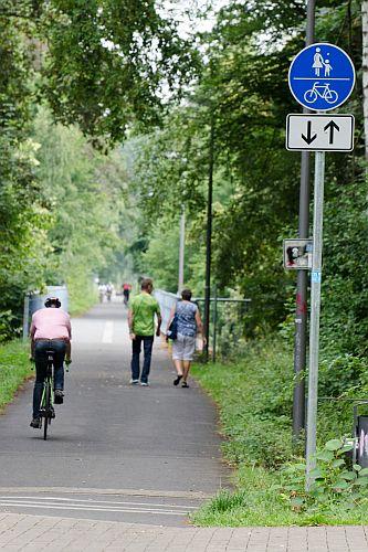 Radverkehr in Bochum (Foto: Lutz Leitmann/Stadt Bochum)