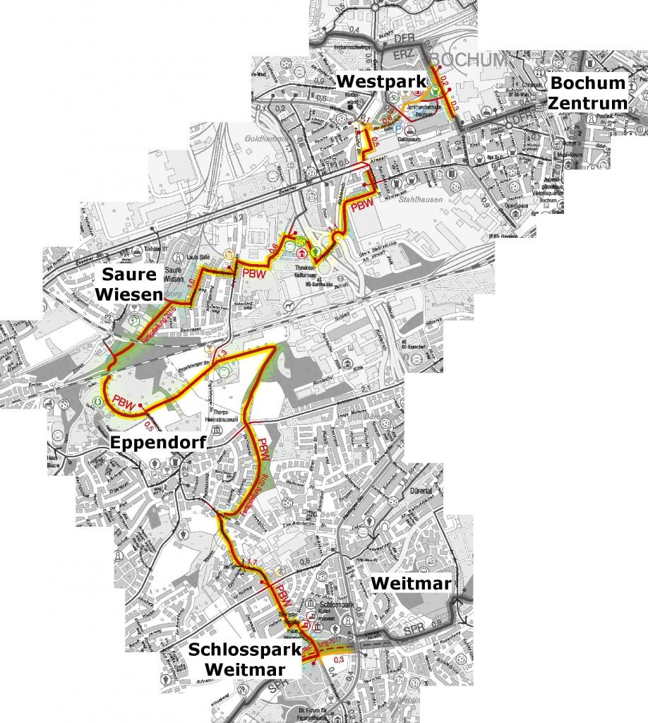 (Karte: Stadt Bochum)